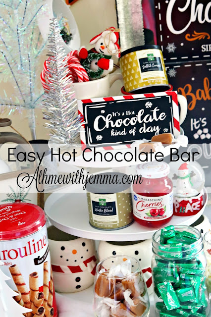 Christmas, Holiday, Entertaining, Hot, Cocoa, Bar, athomewithjemma