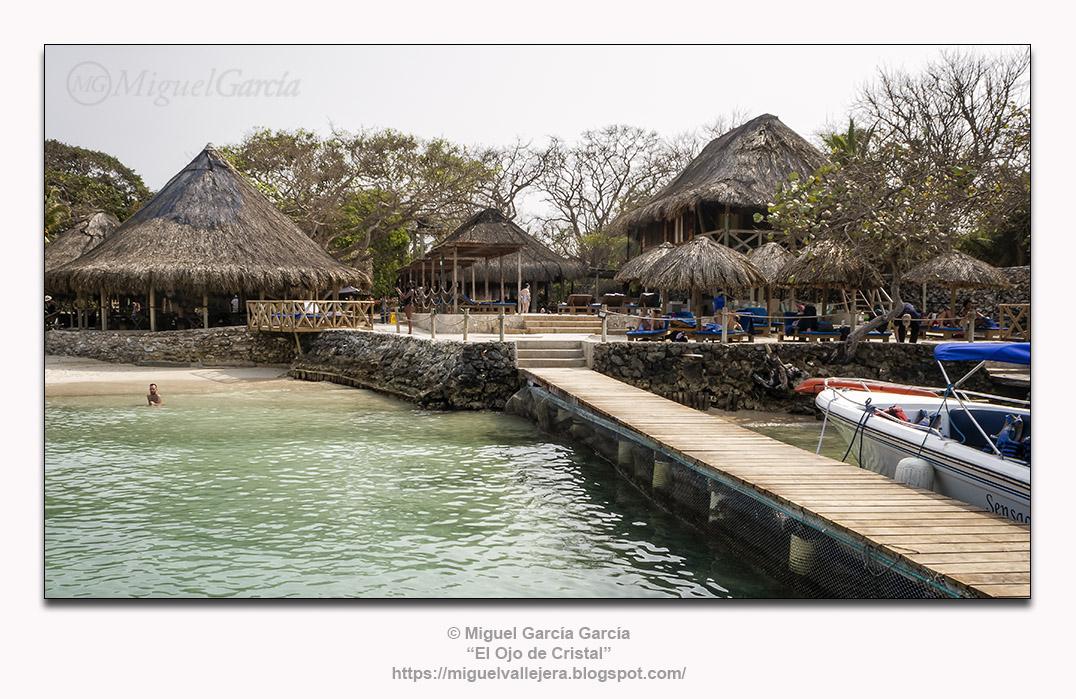 Isla Grande, instalaciones hoteleras.