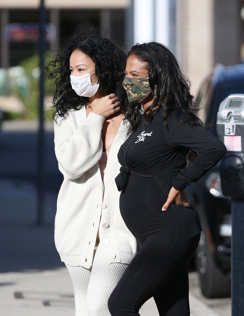 Draya Michele, Christina Milian Clicked Outside in Los Angeles 14 Dec-2020