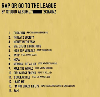 Go To The League, A&Rd by LeBron James track list