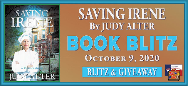 Saving Irene book blog tour promotion banner