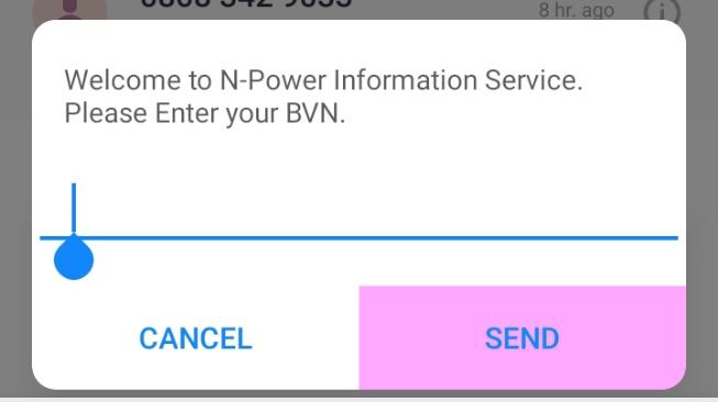 NASIMS: N-Power Ta Fitarda Bayanin Sabon Tsarin Yadda Za'ayi  Link Na BVN