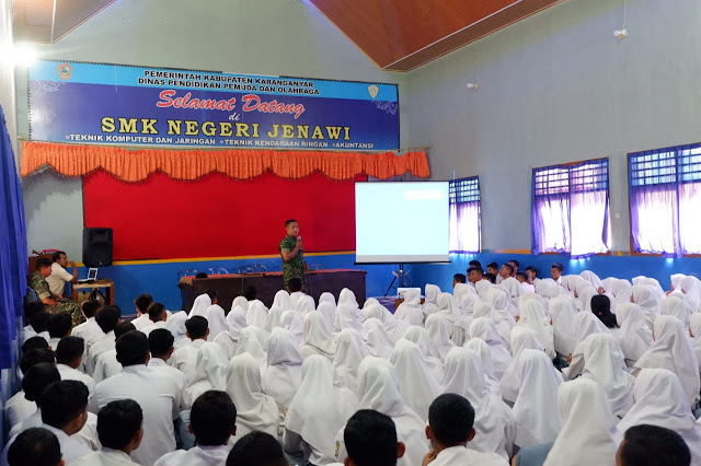 KodimKaranganyar – Gencar Kodim Karanganyar Sosialisasikan Pendaftaran Menjadi Prajurit TNI