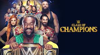 Ver WWE Clash of Champions 2019 En vivo Español Online