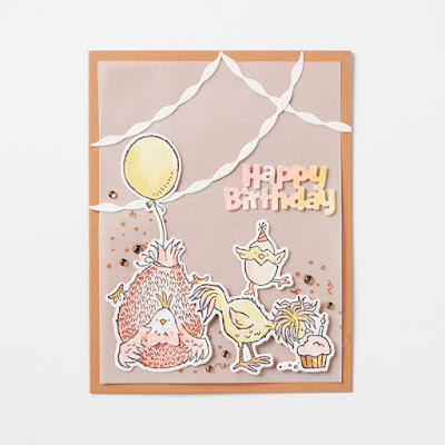 Fun cards created using the Stampin' Up! Hey Chick and Hey Birthday Chick Bundles