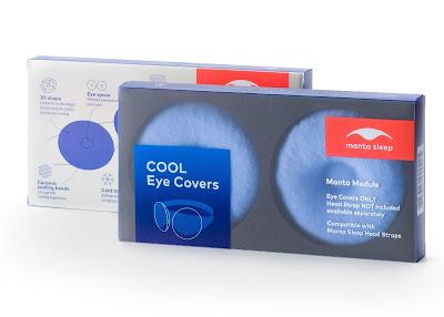 Manta Sleep cool eye covers