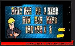 Password Extract Naruto Senki Storm 5 V2 Apk