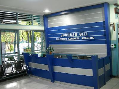 Furniture Interior Front Desk Dan Backdrop Untuk Ruang Lobby + Furniture Semarang