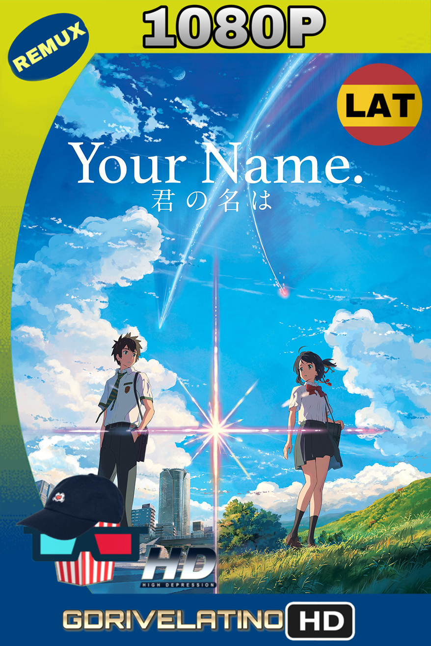 Your Name. (2016) REMUX 1080p (Latino – Japonés) MKV