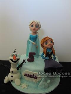 #frozen #cake Bolo de aniversário Frozen