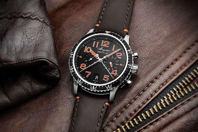Breguet Type XXI 3815 Orange Limited Edition 3815 TI/HO/3ZU