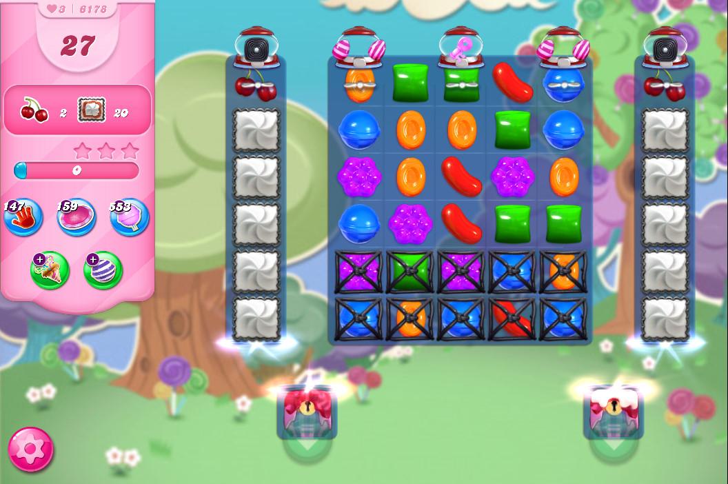 Candy Crush Saga level 6178