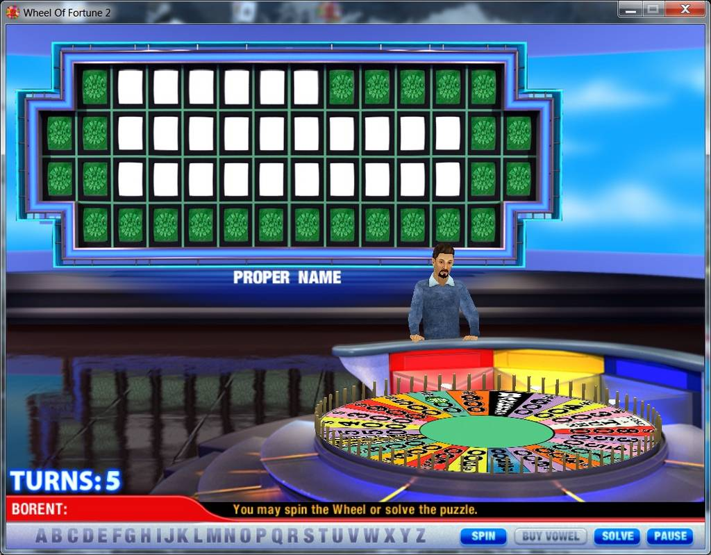Play Wheel Of Fortune Online Game Free