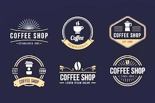 Desain Logo Coffee Shop Keren