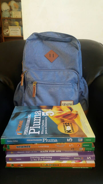 Her New Bag And Books
