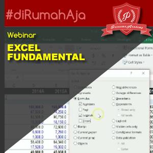 Microsoft Excel Fundamental - WEBINAR