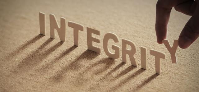 Renungan Harian: Jumat, 31 Januari 2020 - Integritas Sejati