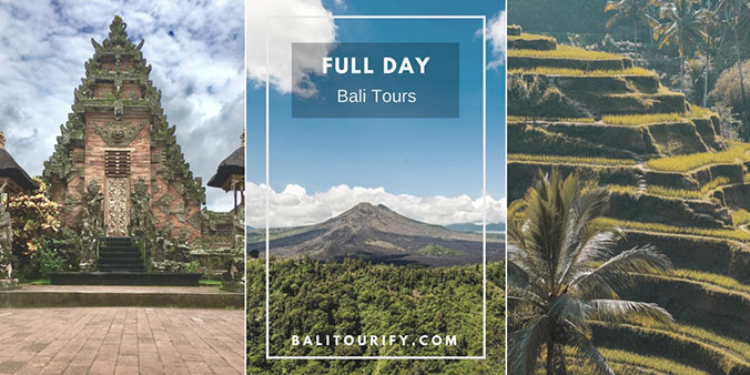 Whole day Bali excursions, Bali full day tours package, Bali one day trips itinerary to visit Bali sightseeing attractions with a local tour operator. Bali activities and private Bali Tour service & Bali car rental with driver for a day | Balitourify