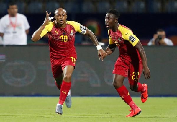 #AFCON2019: Ghana 2-2 Benin: 10-man #BlackStars manage draw in AFCON opener