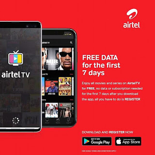 Airtel Tv: free data for 7 days
