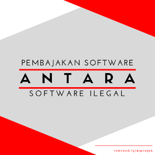 cover Pembajakan Software Atau Software Ilegal?