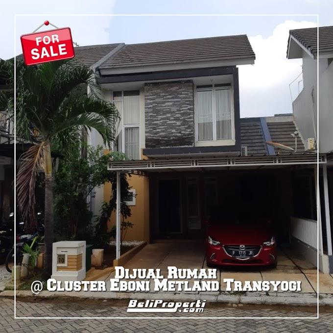 Rumah Dijual di Cluster Eboni Metland Transyogi Cileungsi Bogor
