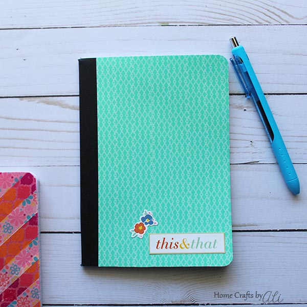 easy and cute decorated notebook