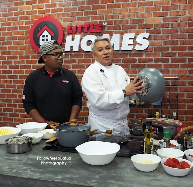 LITTLE HOMES JO'S MARBLE COOKWARE LAUNCH WITH CHEF WAN
