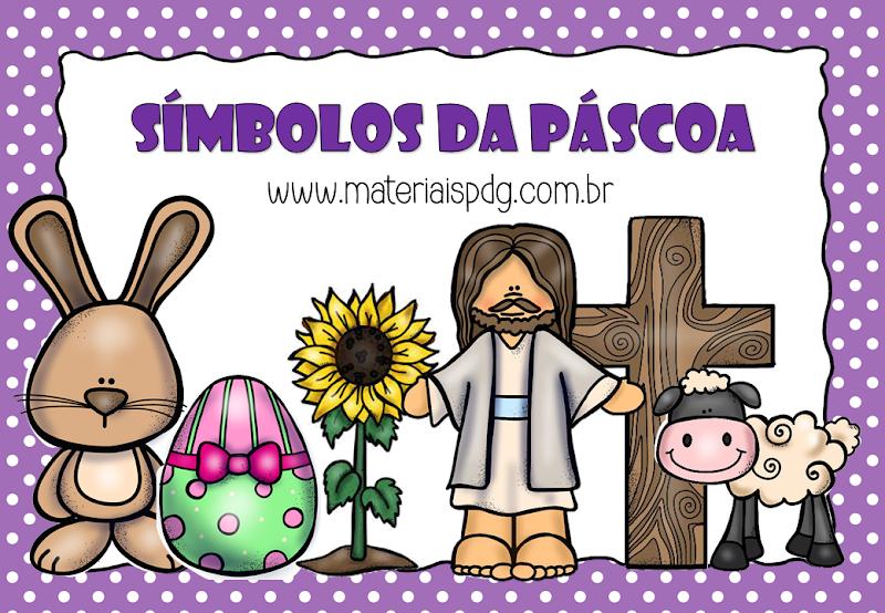 SÍMBOLOS DA PÁSCOA - DOWNLOAD PDF