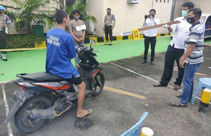 Polres Palopo Menggelar Rekonstruksi Pembunuhan Daeng Losi