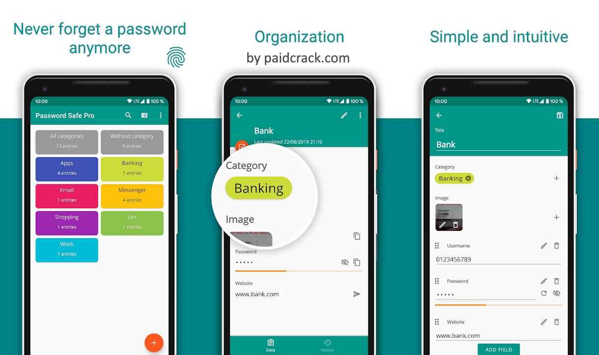 Password Safe - Secure Password Manager Pro Mod Apk 6.8.6