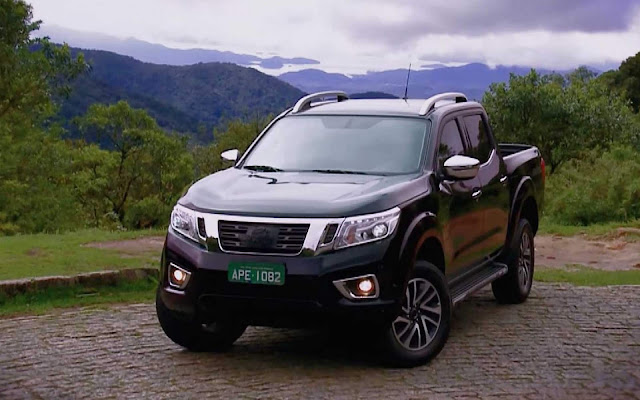 Nova Nissan Frontier CD 4x4 2018