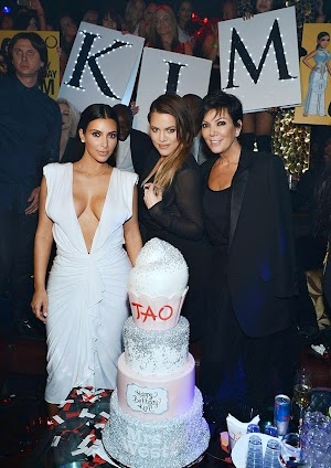 Kim Kardashian celebrated birthday in Las Vegas