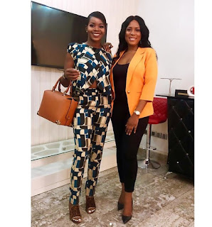 Wizkid First BabyMama Visit Linda Ikeji Media Office - See Photo