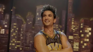 Sushant Singh Rajput in 'Dil Bechara' Titale Track