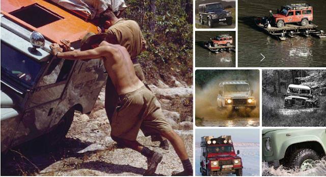 Una aventura en un vehículo Land Rover Defender