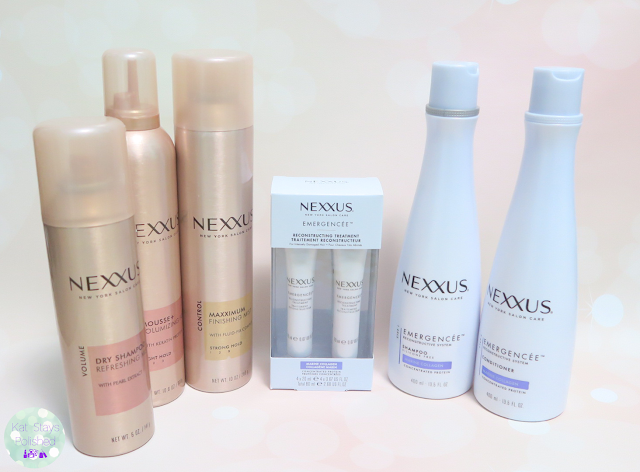 Nexxus New York Salon Care | Kat Stays Polished