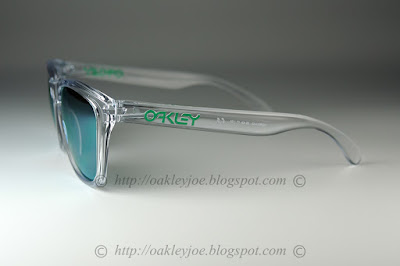 69a9dff712 ... clear + jade iridium polarized 250 lens pre coated with Oakley  hydrophobic nano solution complete set ...