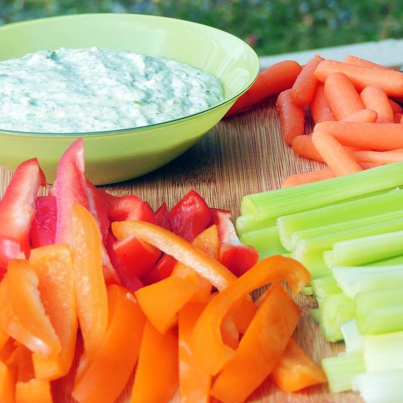 Skinny Green Goddess Dip lets you enjoy all the fresh flavors of this classic dressing without the guilt from all of that pesky fat and calories from www.bobbiskozykitchen.com