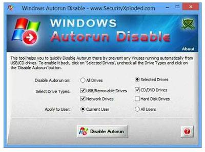 Capture - Cegah Penularan Virus Flashdisk Ke Komputer