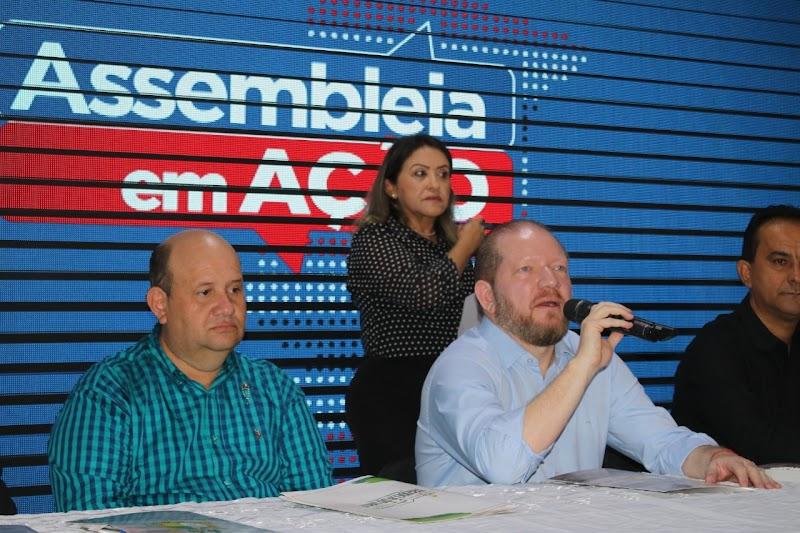 Trizidela do Vale sedia mais uma dia edição do Programa Assembléia em Ação