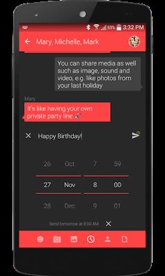 تطبيق Textra SMS لتخصيص الرسائل النصية -  النسخة الإحترافية