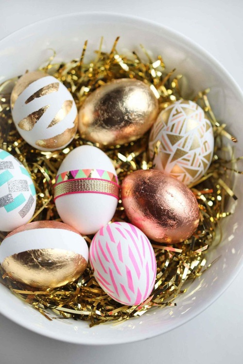 golden easter egg decorative wallpapers