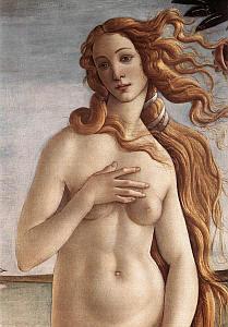 I Romani identificarono con Venere, era, secondo Omero, figlia di Zeus e della ninfa Dione; invece, secondo Esiodo, era nata in primavera dalla spuma del mare fecondata dai genitali di Urano che Cronos aveva scagliato in mare dopo la ribellione contro...