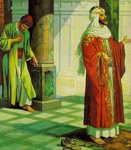 el fariseo y el publicano parabola