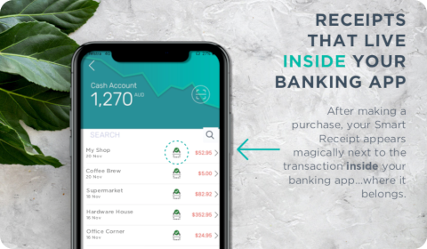Slyp – Receipts that live inside your banking app