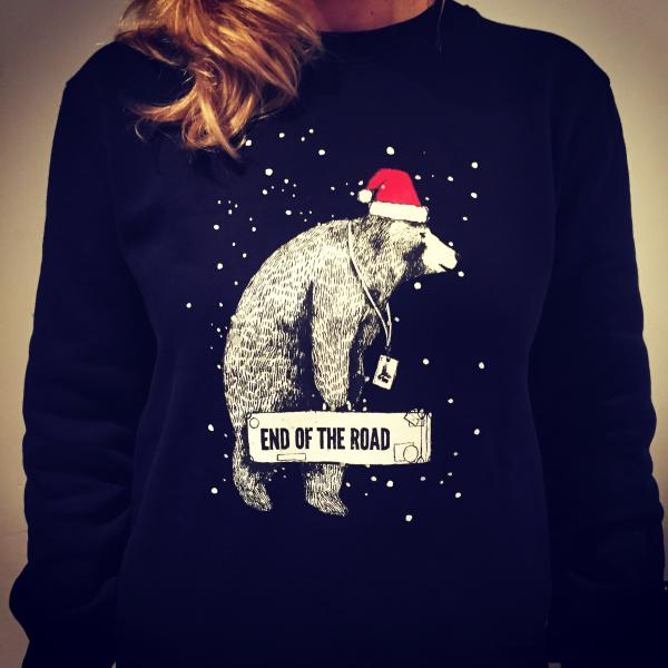 end of the road festival xmas jumper