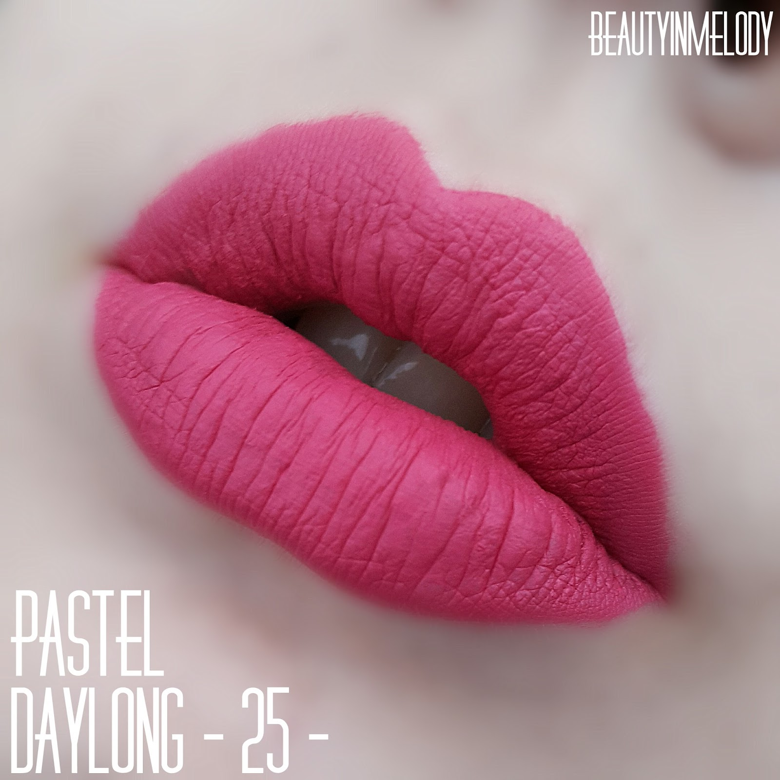 Beautymelody Pastel Daylong Lipcolor - New Limited -8539