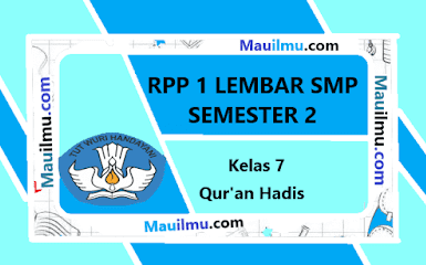rpp-1-lembar-quran-hadist-kelas-7
