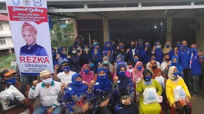Kedatangan Rezka Oktoberia Ke Sawahlunto Berikan Energi Positif Bagi Kader Demokrat